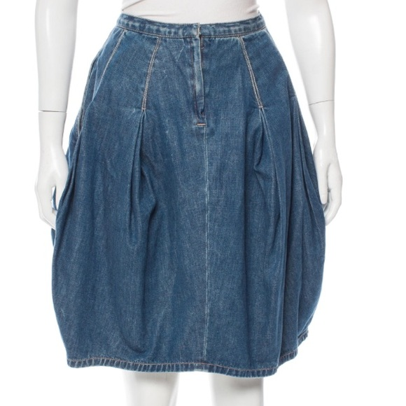 d81014017 Marc Jacobs Skirts | Blue Pleated Denim Skirt 2 | Poshmark